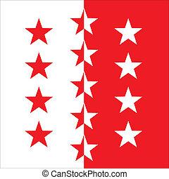 bandeira, valais