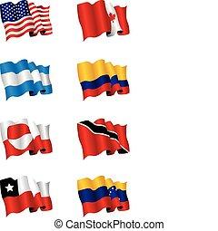 bandeiras americanas