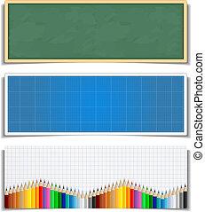 bandeiras, educação