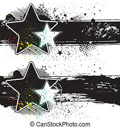 bandeiras, estrela