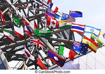 bandeiras internacionais