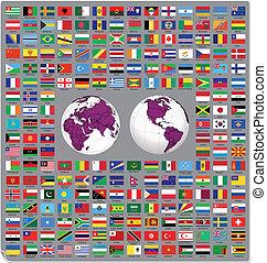 bandeiras mundo, 2014