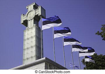 bandeiras, tallinn, estónia