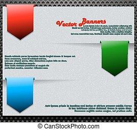 bandeiras, vetorial