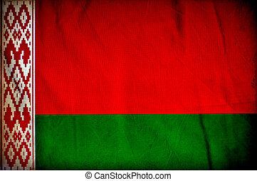 bandera, belarus, grunge