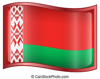 bandera, belarus, icon.