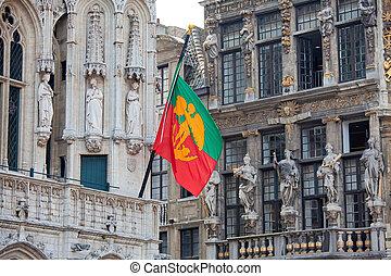bandera, bruselas