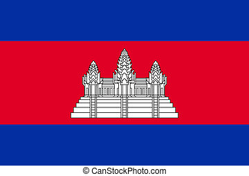 bandera, camboya