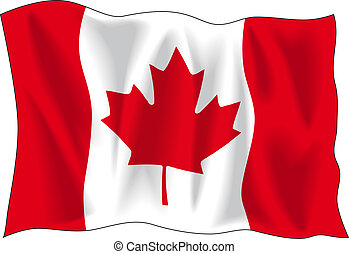 bandera canadiense
