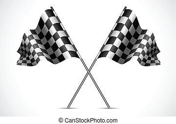 bandera, carrera