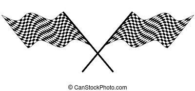 bandera, carreras