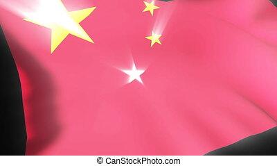 bandera, chińczyk