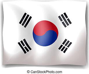 bandera, corea al sur