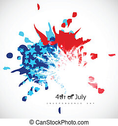 bandera, día, norteamericano, Plano de fondo,  Grungy,  col, independencia