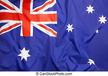 bandera, de, australia