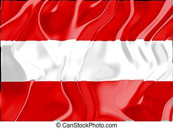 bandera, de, austria