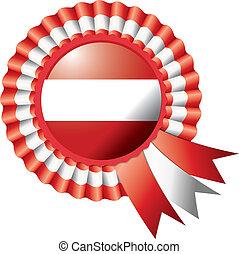 bandera de austria, escarapela