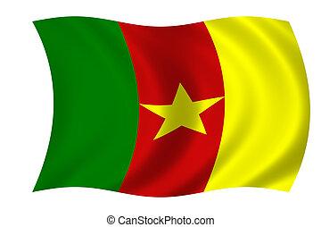 bandera, de, camerún