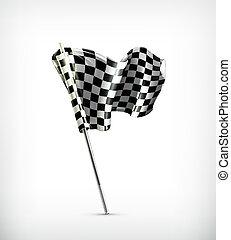 bandera de checkered