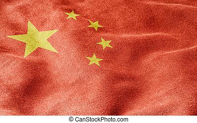 bandera de china, república