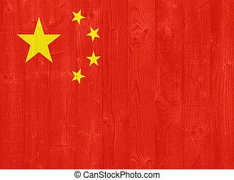 bandera de china, república, gente