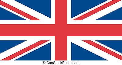 bandera, de, el, reino unido