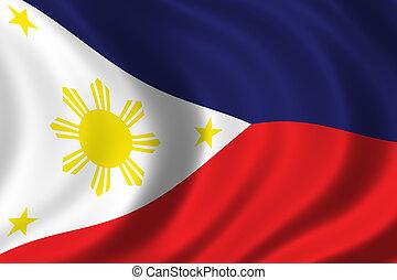 bandera, de, filipinas