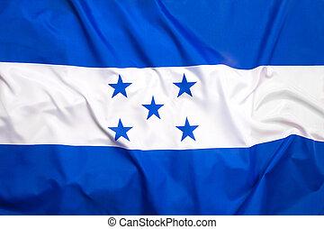 bandera, de, honduras