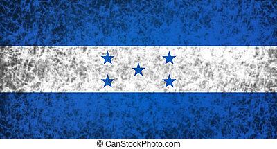 bandera, de, honduras.