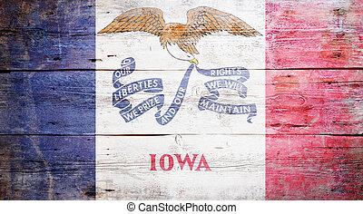 bandera, de, iowa