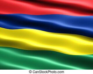 bandera de isla mauricio