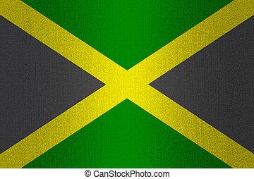 Piedra rasta pared bandera amarillo rojo verde - Baneras de piedra ...