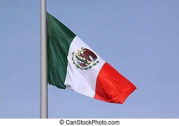 bandera, de, méxico