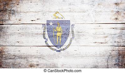 bandera, de, massachusetts