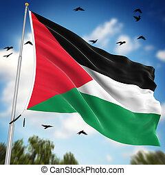 bandera de palestine