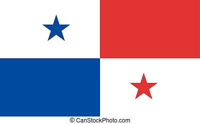 bandera de panamá, imagen