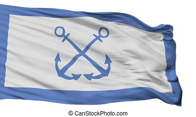 Bandera De Prefectura Naval Argentina Flag Isolated Seamless...