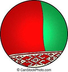 bandera del estado, belarus
