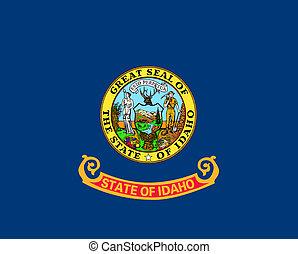 bandera del estado, idaho