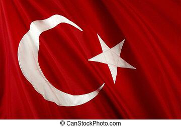 bandera del pavo