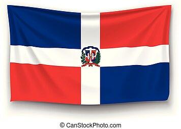bandera, dominicano