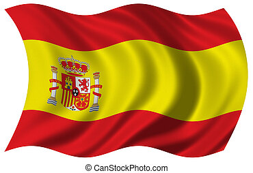 bandera, españa
