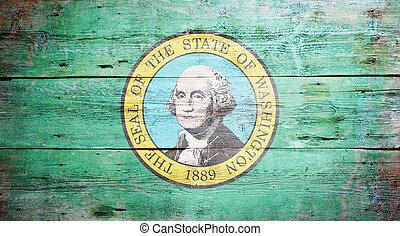 bandera, estado de washington