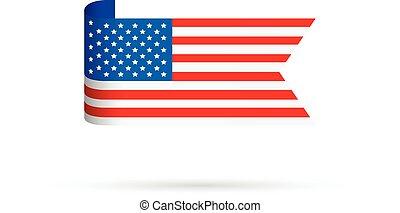 bandera, estados unidos de américa