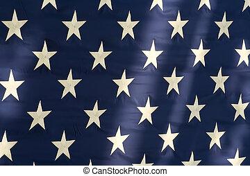 bandera estadounidense, estrellas