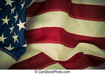 bandera estadounidense