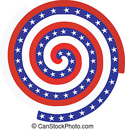bandera estadounidense, textura