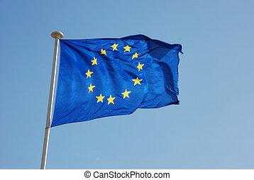 bandera, europejczyk