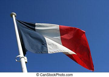 bandera, francés