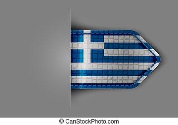 bandera, grecia